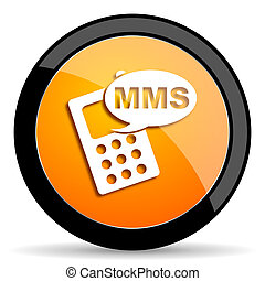 mms orange icon