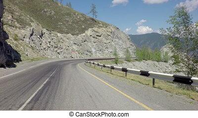 Travel on Chuysky Trakt through pass Chike Taman - Travel on...