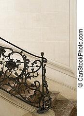handrail - beautiful handrail in a castle