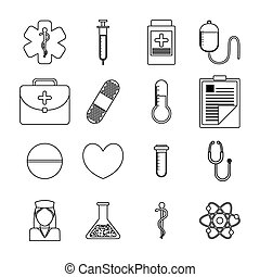 Medical healthcare icons