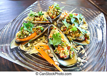 Spicy mussel