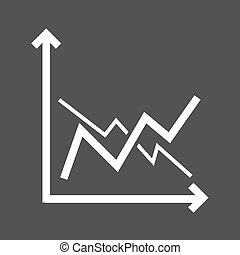 Frequency Graphs - Frequency, bar, graph icon vector image...
