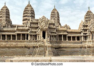 Wat Po Temple - Ancient part of Wat Po Temple, Thailand