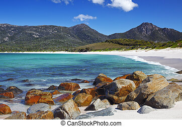 wineglass bay - A photography of Wineglass Bay in Tasmania