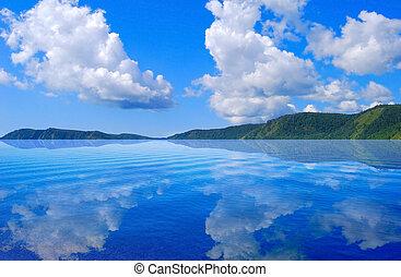 Lake Baikal - Calm Lake Baikal.