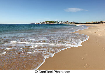 Nobbys Beach - Newcastle Australia - Nobbys Beach is a...