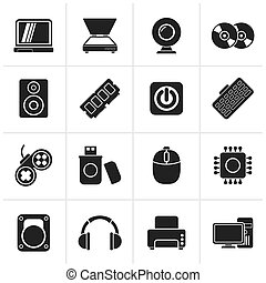 Computer Parts and Devices icons