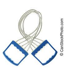 Blue handle expander - Sport appliance blue handle expander...