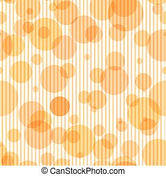 Seamless pattern with transparent circles and vertical stripes