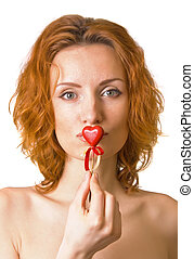 Kissing the heart
