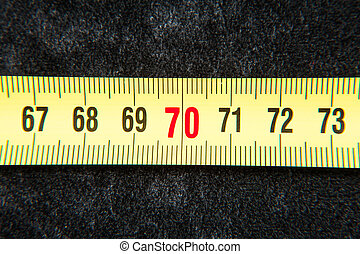 Measure concept - A piece of metric numbering system and can...