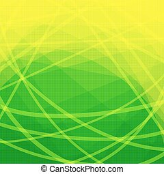 Abstract Color Background - Abstract Green and Yellow...