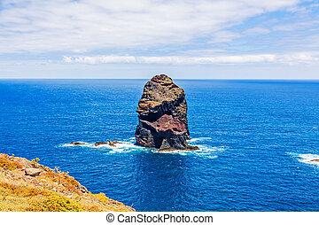 Madeira, bay at Ponta de Sao Lourenco - Rock in the Atlantic...