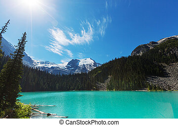 Joffre lake - Beautiful Joffre lake in Canada