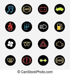 dashboard car icons