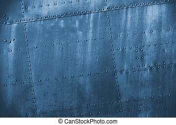 blue  grunge dirt metal texture or background