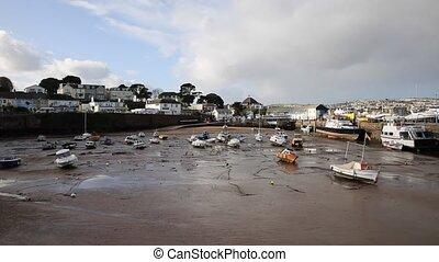 Paignton harbour Devon England uk - Paignton harbour Devon...