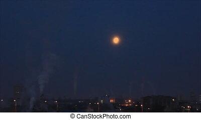 Moonlight melt in dawn