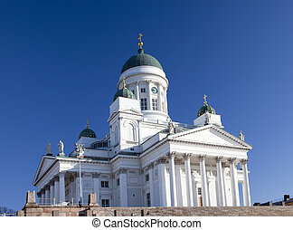 Lutheran cathedral in Helsinki,