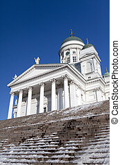 Lutheran cathedral in Helsinki, Fin
