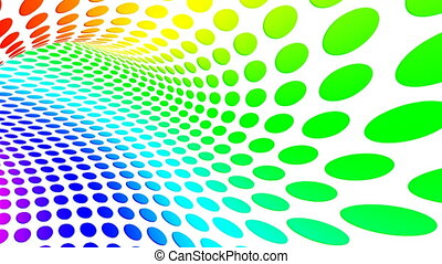 ciclo dot - Abstract background with colorful dots