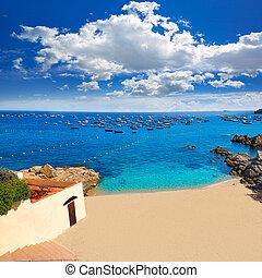 Calella de Parafrugell in Costa Brava of Girona - Calella de...