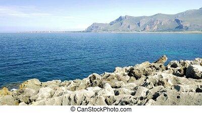 4K, Coastal Line, Sicily, Italy