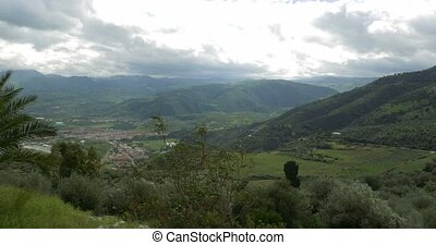 4K, Nice View on Marinello and surroundings, Sicily, Italy