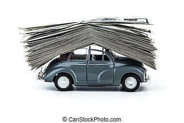 クレジット, 自動車