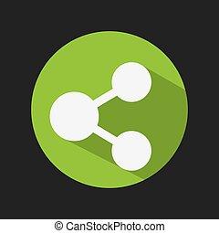 share icon design - share icon design, vector illustration...