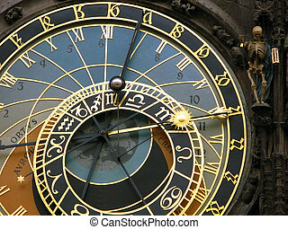medieval astronomical clock - Prague