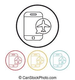 e-ticket line icon