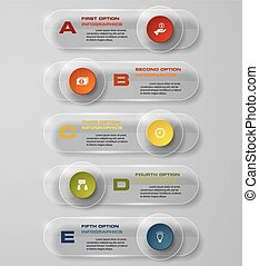 Design transparency banners EPS10 - Design transparency...