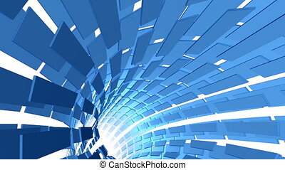 ciclo screen - Abstract sketched blu background