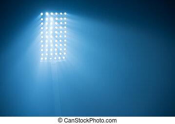 stadium lights - soccer stadium lights reflectors against...