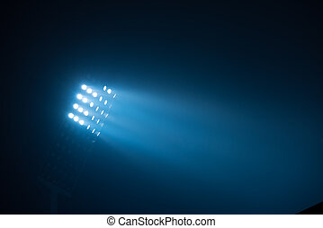 stadium lights - soccer stadium lights reflectors against...