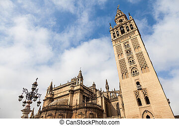 Giralda Bell Tower - Spain - the bell tower of Sevilla...