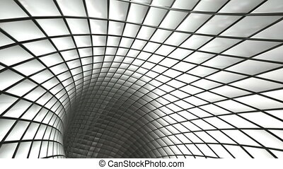 ciclo steel mesh - Hi tech abstract background