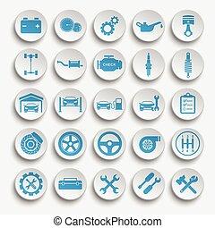 Vector Auto repair Icons
