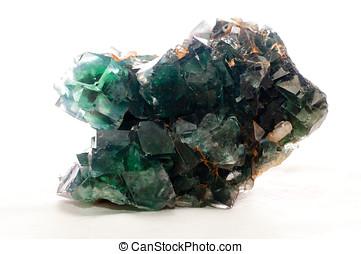 muestra, fluorita,  mineral