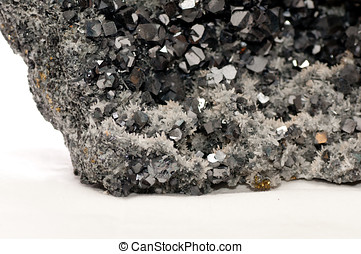 galena mineral sample - galena metallic ore mineral sample,...