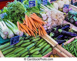 grönsaken, val