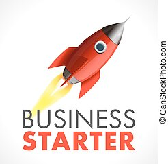 Business starter logo