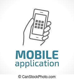 Logo - Mobile applications concept