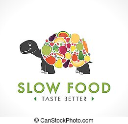 Logo - Slow food concept