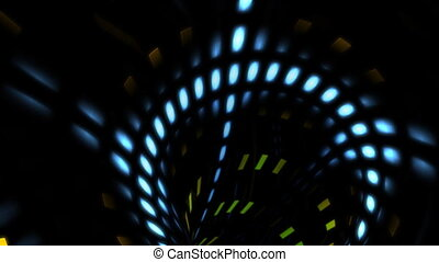 spiro line - Abstract background with light