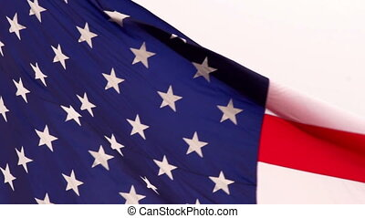 American Flag Patriotic Red White and Blue Stars Stripes -...