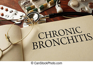 Chronic bronchitis - Book with diagnosis Chronic bronchitis...