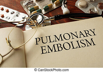 Pulmonary embolism - Book with diagnosis Pulmonary embolism...