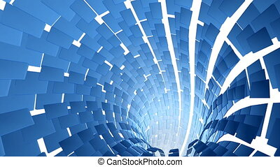 spiro screen - Abstract sketched blu background